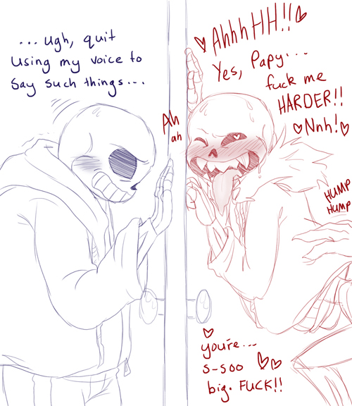 18  papyrus sans x Wendy the good little witch