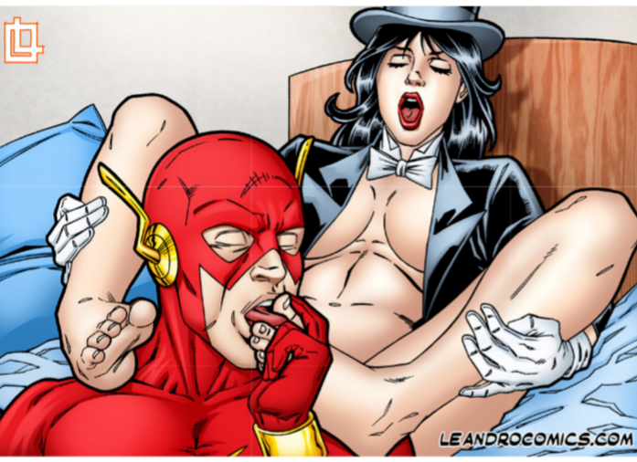 barry wally costume allen west difference World of smudge adult comics