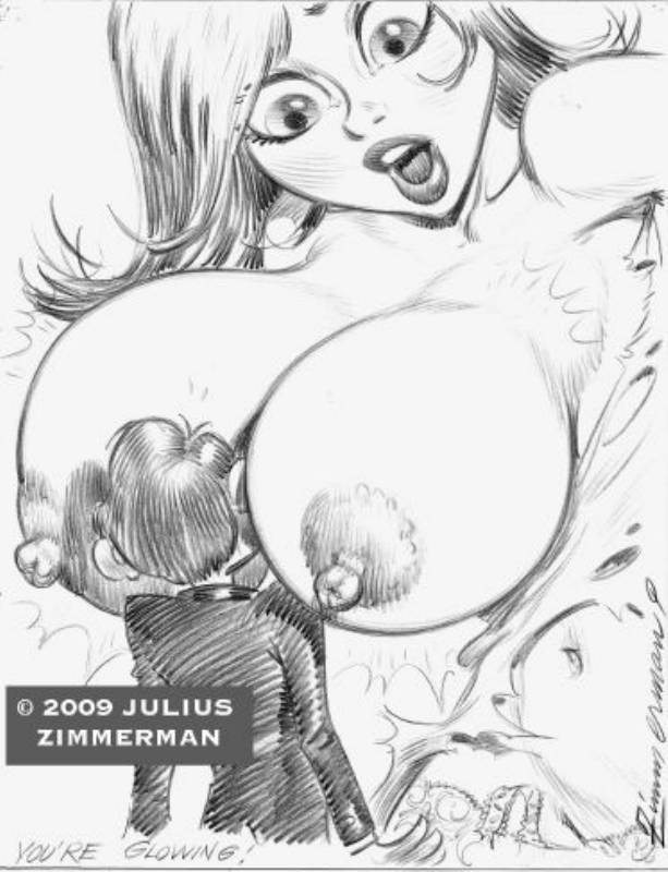 growth aliens monsters vs susan Boob butt belly expansion art