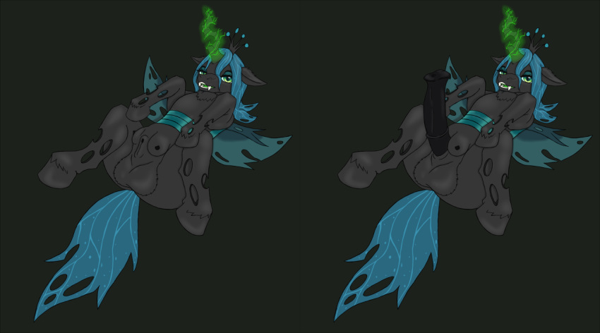 queen little chrysalis from my pony Five nights at freddy's 2 animation