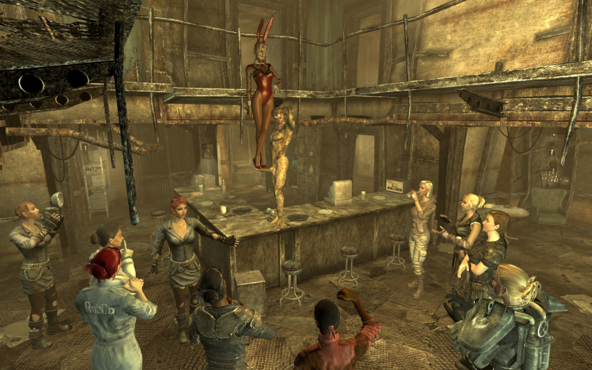 curie 4 fallout Scooby doo school of ghouls
