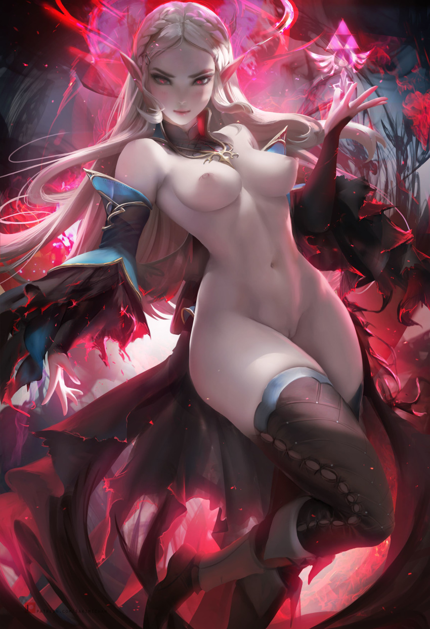 of breast legend the wild of zelda Rule 63 beauty and the beast