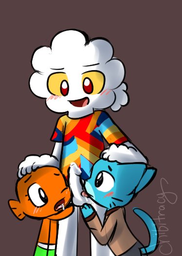 world of amazing gumball leslie the Caballeros del zodiaco lost canvas